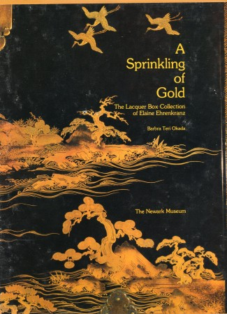 First  cover of 'A SPRINKLING OF GOLD.'