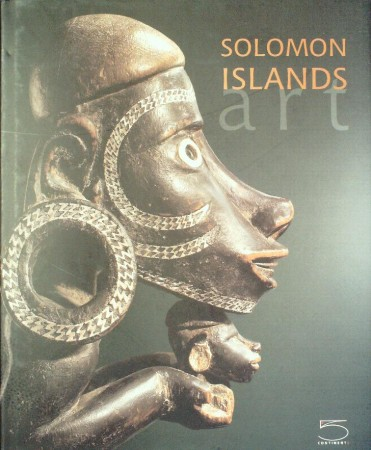 First  cover of 'SOLOMON ISLANDS ART. THE CONRU COLLECTION.'