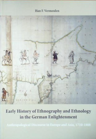 First  cover of 'EARLY HISTORY OF ETHNOGRAPHY AND ETHNOLOGY IN THE GERMAN ENLIGHTMENT.'