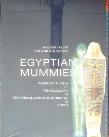 First  cover of 'EGYPTIAN MUMMIES.'