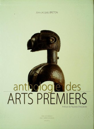 First  cover of 'ANTHOLOGIE DES ARTS PREMIERS.'