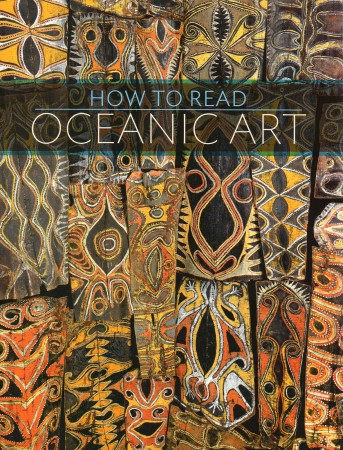 First  cover of 'HOW TO READ OCEANIC ART.'