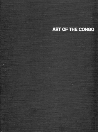 First  cover of 'ART OF THE CONGO.'