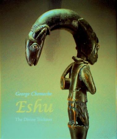 First  cover of 'ESHU. THE DIVINE TRICKSTER.'