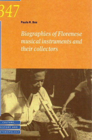First  cover of 'BIOGRAPHIES OF FLORENESE MUSICAL INSTRUMENTS AND THEIR COLLECTORS.'