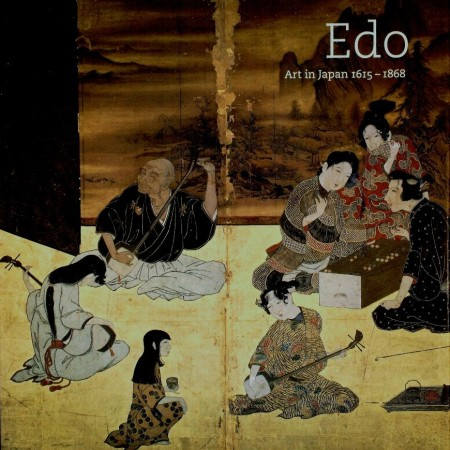 First  cover of 'EDO. ART IN JAPAN 1615 - 1868'
