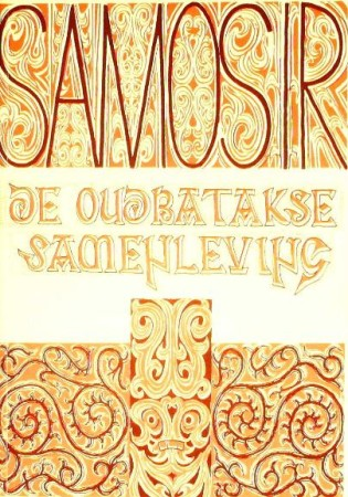 First  cover of 'SAMOSIR. DE OUDBATAKSE SAMENLEVING.'