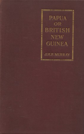 First  cover of 'PAPUA OR BRITISH NEW GUINEA.'