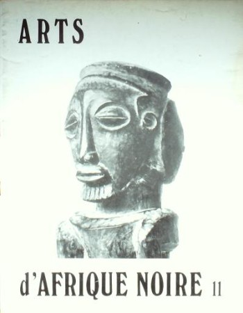 First  cover of 'ARTS D'AFRIQUE NOIRE. NO. 11 AUTOMNE (1974). [Magazine]. Text: French.'