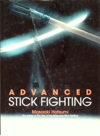 First  cover of 'ADVANCED STICK FIGHTING.'