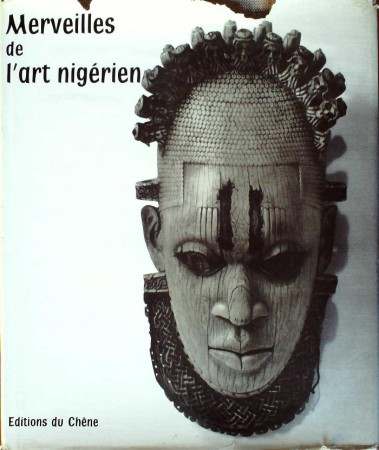 First  cover of 'MERVEILLES DE L'ART NIGÉRIEN.'
