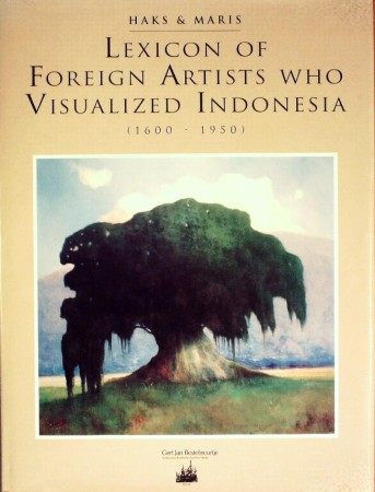 First  cover of 'LEXICON OF FOREIGN ARTISTS WHO VISUALISED INDONESIA. 1600-1950.'