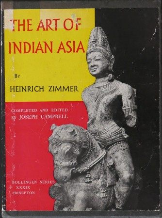 First  cover of 'THE ART OF INDIAN ASIA. ITS MYTHOLOGY AND TRANSFORMATIONS. 2 Vols.'