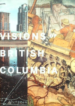 First  cover of 'VISIONS OF BRITISH COLUMBIA. A LANDSCAPE MANUAL.'