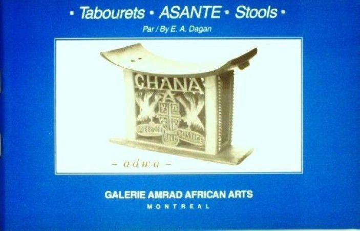 First  cover of 'ASANTE STOOLS/TABOURETS.'