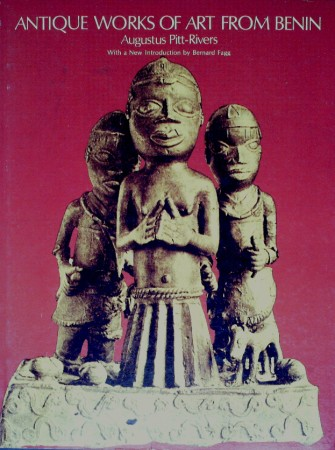 First  cover of 'ANTIQUE WORKS OF ART FROM BENIN.'
