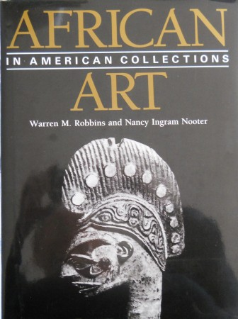 First  cover of 'AFRICAN ART IN AMERICAN COLLECTIONS.'