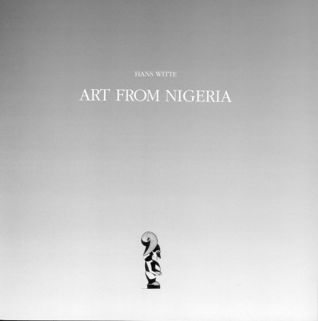 First  cover of 'ART FROM NIGERIA.'