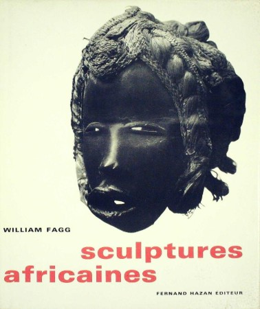 First  cover of 'SCULPTURES AFRICAINES.'