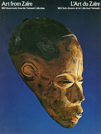 First  cover of 'ART FROM ZAIRE, 100 MASTERWORKS FROM THE NATIONAL MUSEUM/'