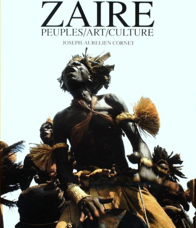First  cover of 'ZAIRE. PEUPLES/ART/CULTURE.'