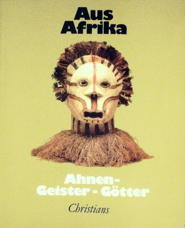 First  cover of 'AUS AFRIKA. AHNEN-GEISTER-GÖTTER.'