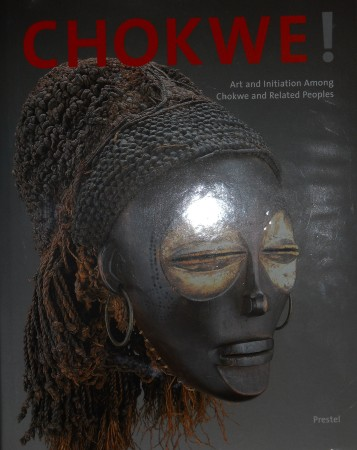 First  cover of 'CHOKWE! ART AND INITIATION AMONG CHOKWE AND RELATED PEOPLES.'