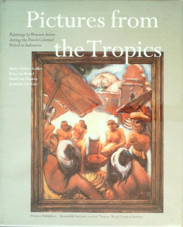 First  cover of 'PICTURES FROM THE TROPICS.'