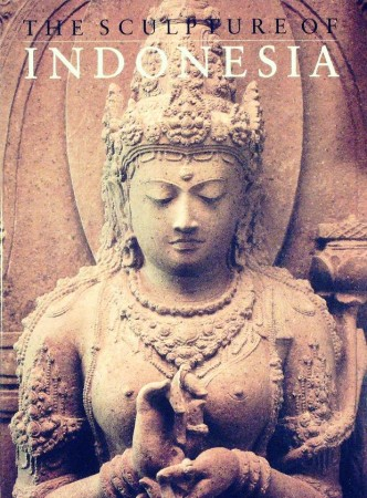 First  cover of 'THE SCULPTURE OF INDONESIA.'