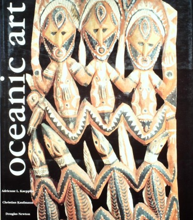 First  cover of 'OCEANIC ART.'