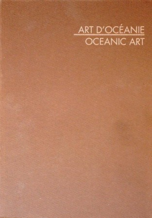 First  cover of 'ART D'OCEANIE. ACQUISITIONS 1990.'