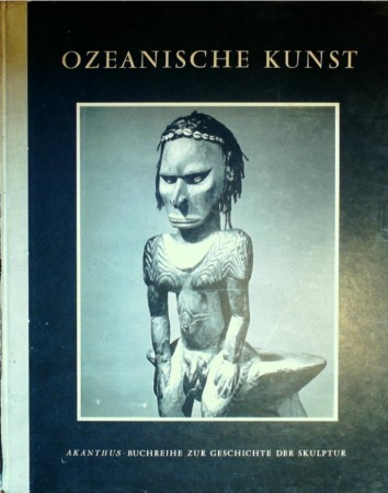 First  cover of 'OZEANISCHE KUNST. SKULPTUREN AUS MELANESIEN.'