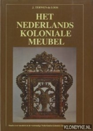 First  cover of 'HET NEDERLANDSE KOLONIALE MEUBEL.'