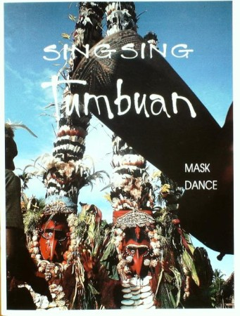 First  cover of 'SINGSING TUMBUAN. (MASK DANCE).'