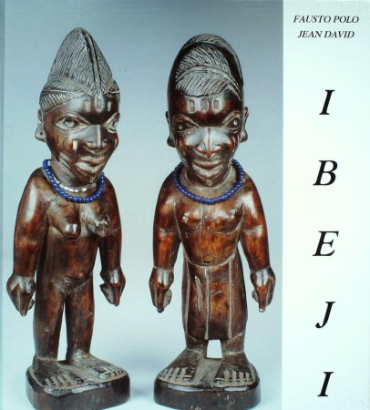 First  cover of 'CATALOGUE OF THE IBEJI. 2 Vols.'