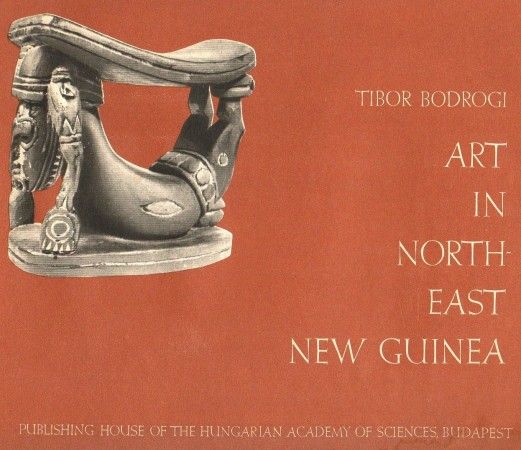 First  cover of 'ART IN NORTH-EAST NEW GUINEA.'