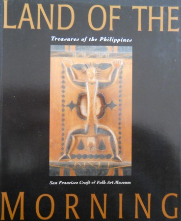 First  cover of 'LAND OF THE MORNING. TREASURES OF THE PHILIPPINES.'