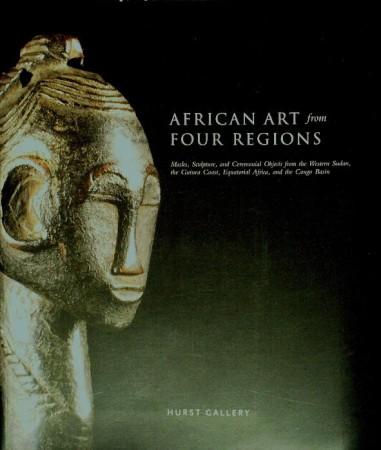 First  cover of 'AFRICAN ART FROM FOUR REGIONS.'