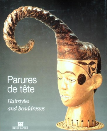 First  cover of 'PARURES DE TÊTE/HAIRSTYLES AND HEADDRESSES.'