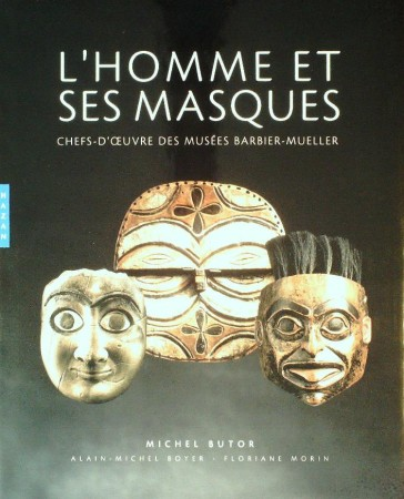 First  cover of 'L'HOMME & SES MASQUES.'