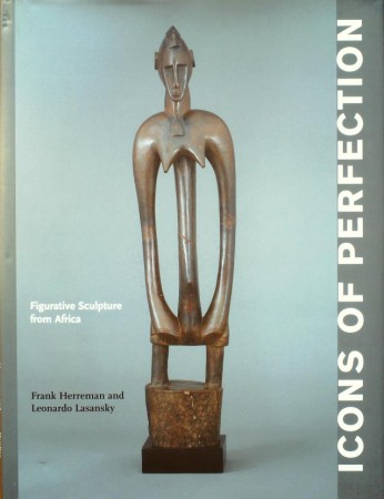 First  cover of 'ICONS OF PERFECTION. FIGURATIVE SCULPTURE FROM AFRICA.'