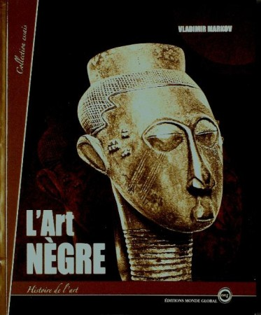 First  cover of 'L' ART NÈGRE.'