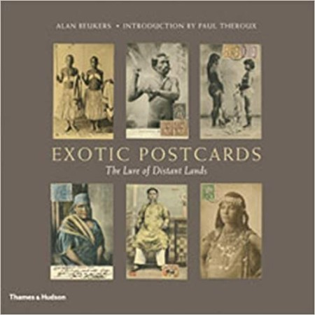 First  cover of 'EXOTIC POSTCARDS.'